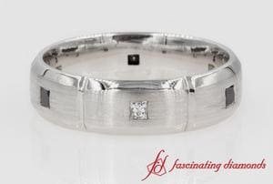 Princess Cut Mens Band