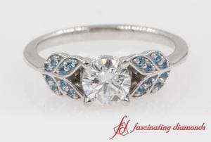 Diamond Vintage Engagement Ring