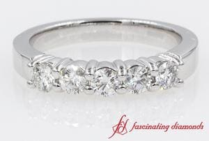 Diamond Wedding Anniversary Band