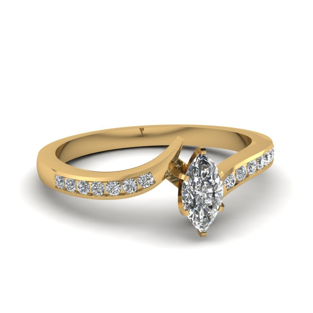 Affordable 0.75 ct. Marquise Diamond Ring