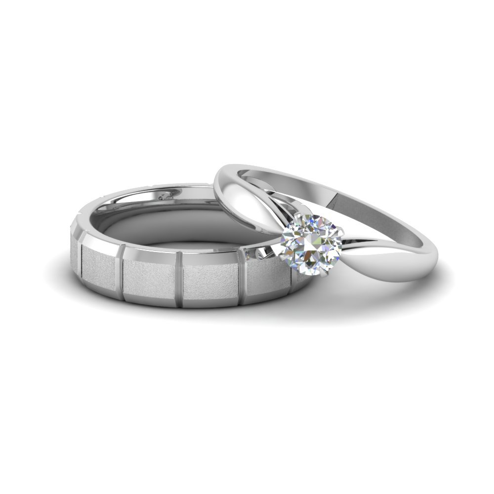 His And Hers Platinum Wedding Rings