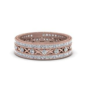 3 Piece Diamond Stacking Bands