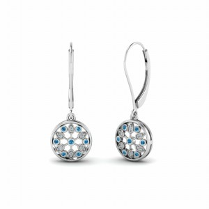 Platinum Earring For Womens