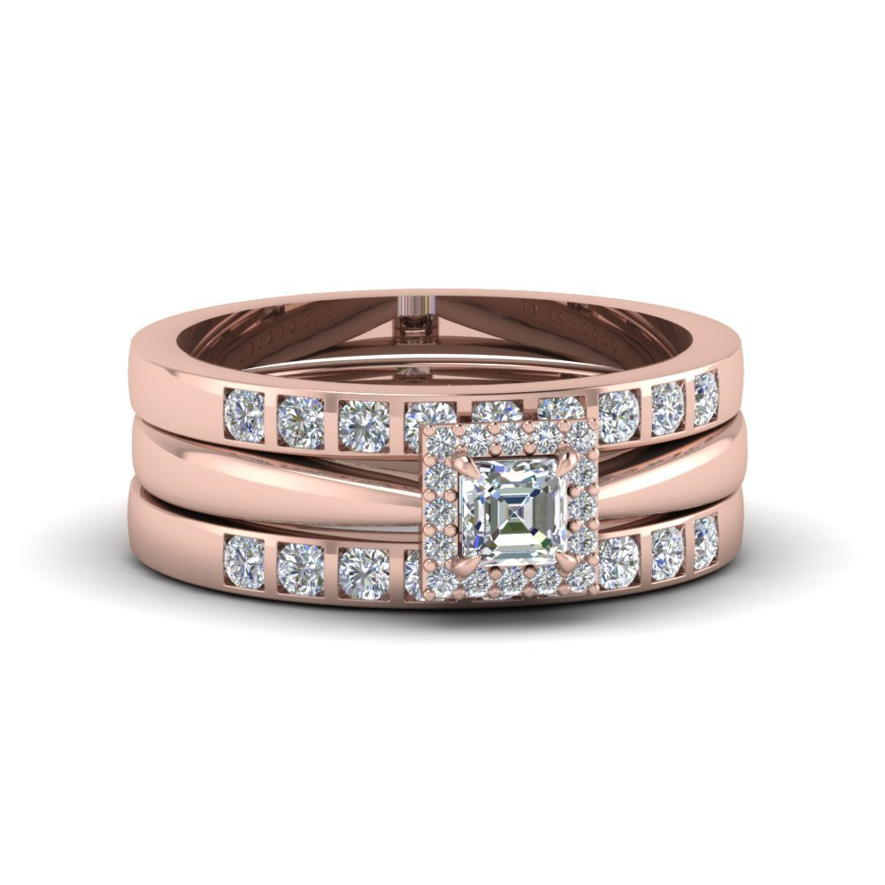 Trio Wedding Ring Sets