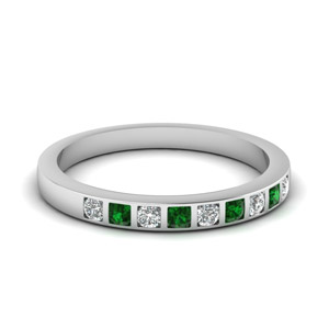 Bar Set Diamond Ring For Her
