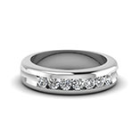 Classic Diamond Wedding Bands