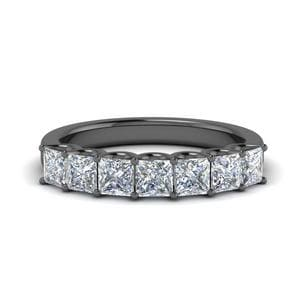1.25 Ct. Diamond Black Gold Band