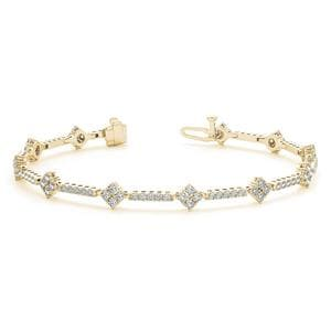 Classic Design Tennis Diamond Bracelet