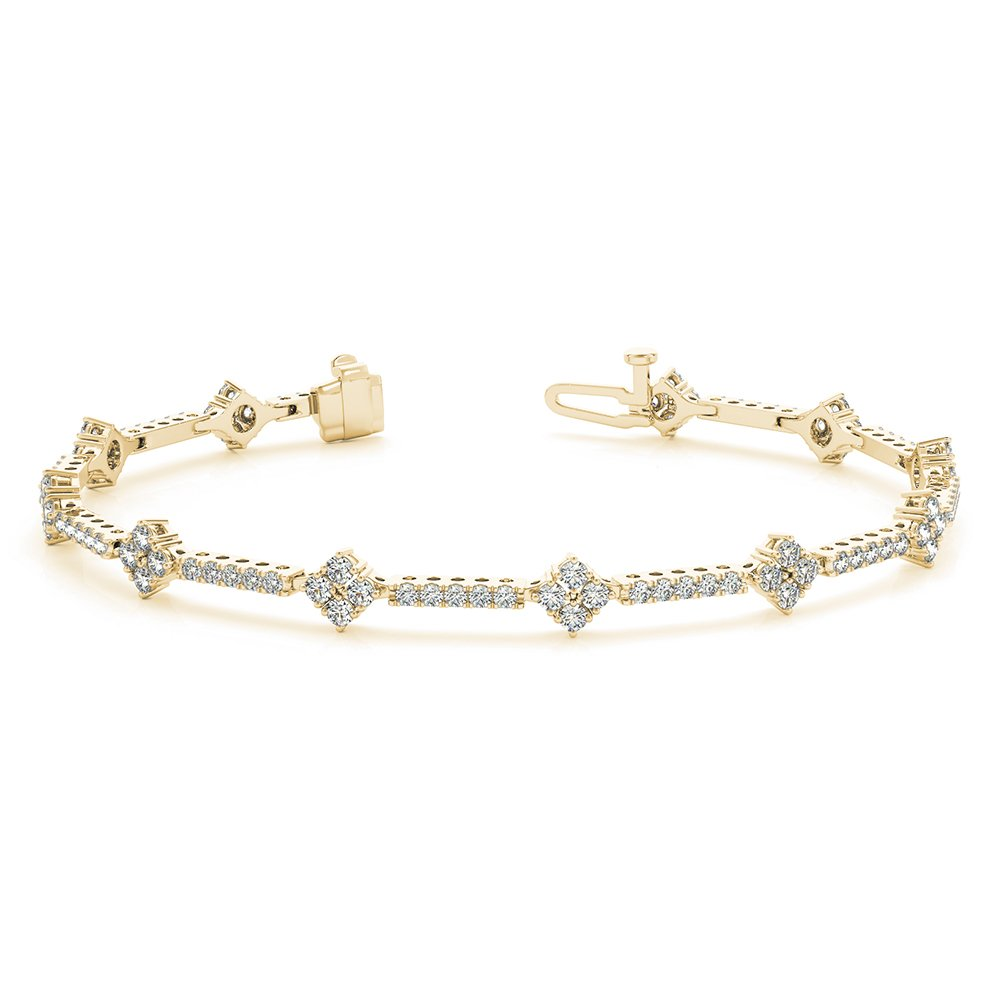 Classic Design 18K Yellow Gold Bracelet