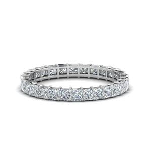 Classic Princess Cut Eternity Ring 2 Ct.