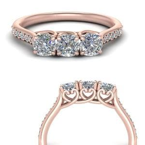 Classic Cushion Cut Diamond Ring