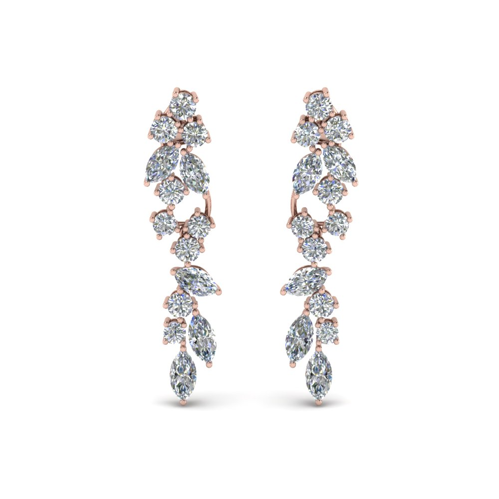 Extraordinary Diamond Earrings