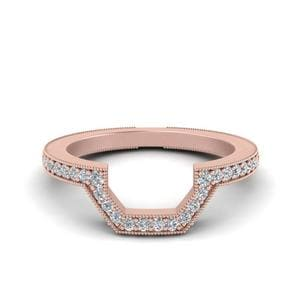 Contour Vintage Wedding Band