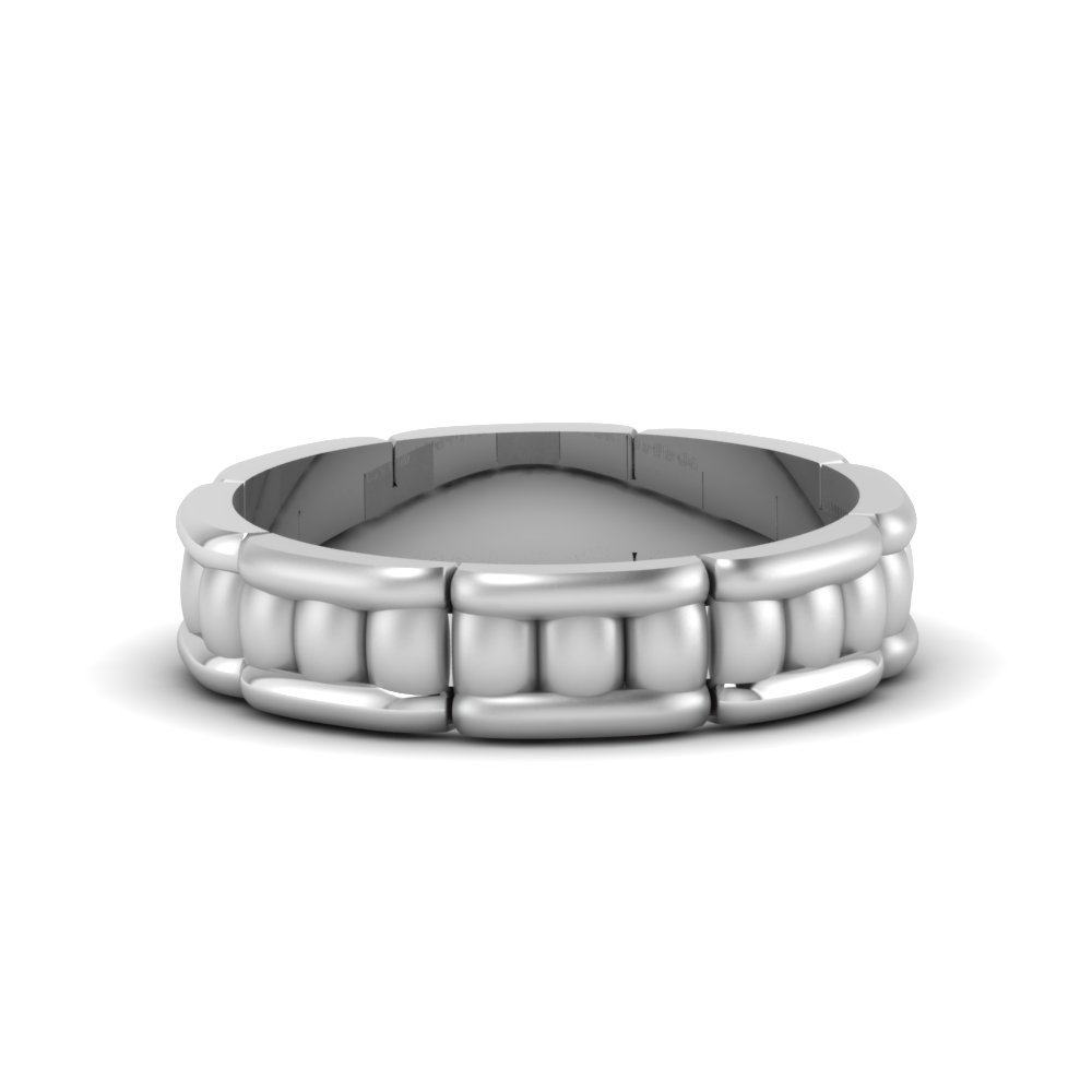 Cool Mens Wedding Anniversary Band