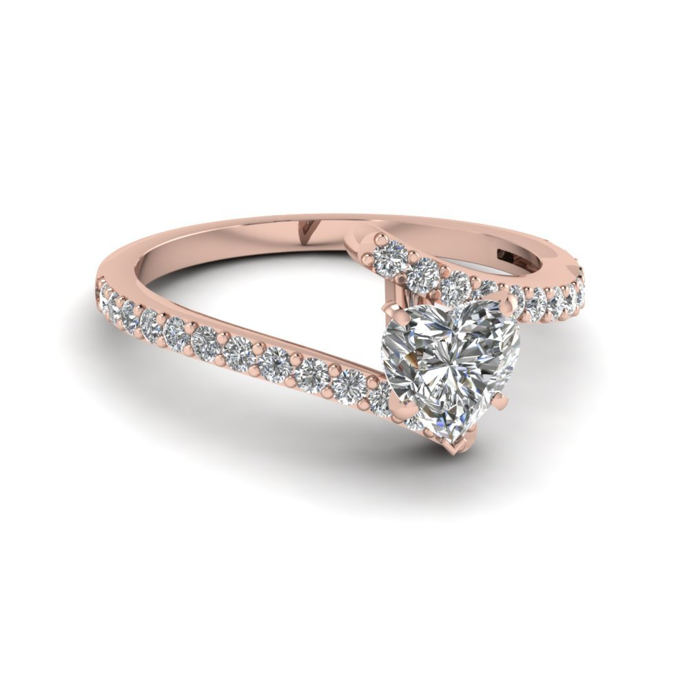 Modern Wedding Diamond Rings
