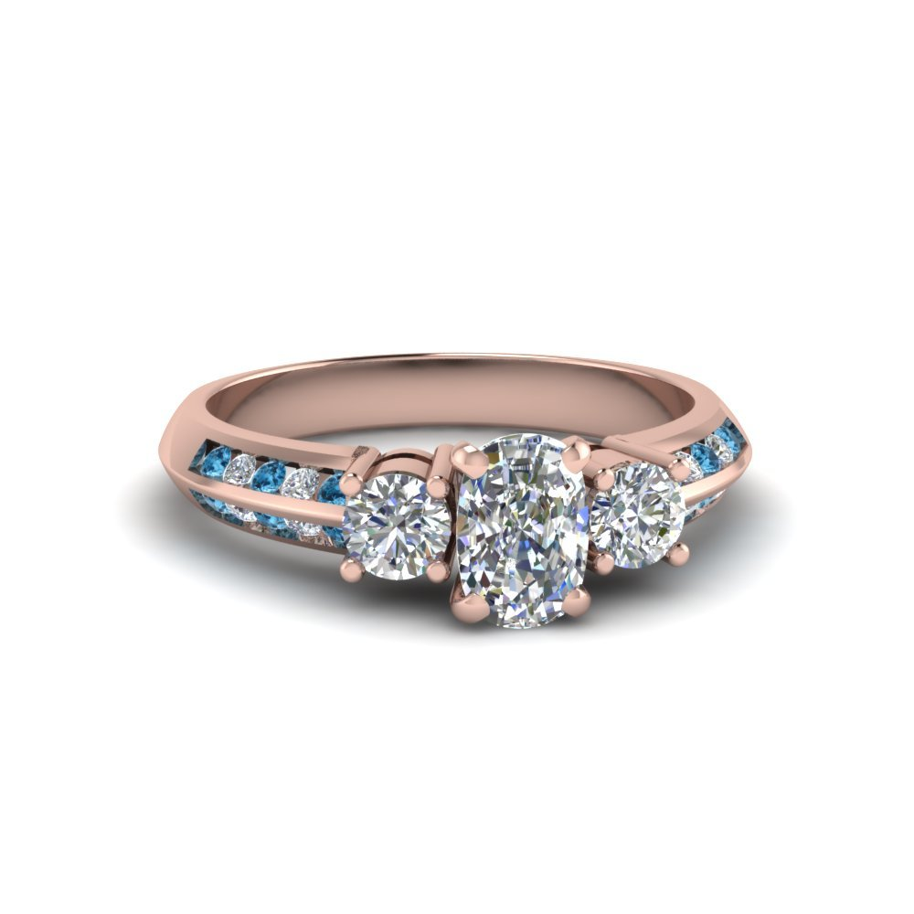 Topaz 14k Rose Gold Ring