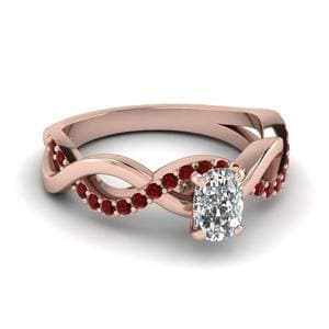 Ruby Twisted Ring