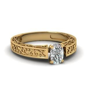 Single Stone Solitaire Ring