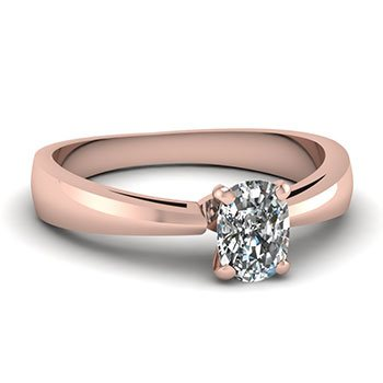 Shop Cushion cut  diamond rings