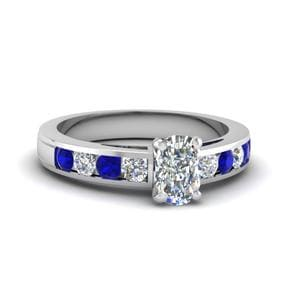 Timeless Sapphire Engagement Ring