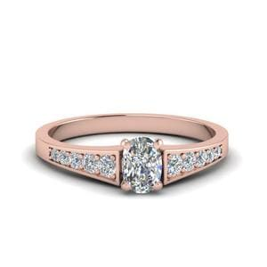 Petite Graduated Diamond Ring