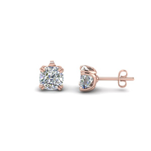 Cushion Stud Earring (2 Ct.)