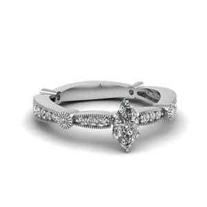 Marquise Cut Diamond Engagement Rings