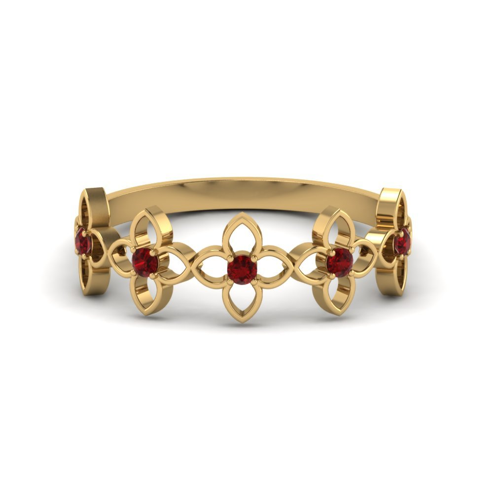 Ruby Wedding Ring For Women