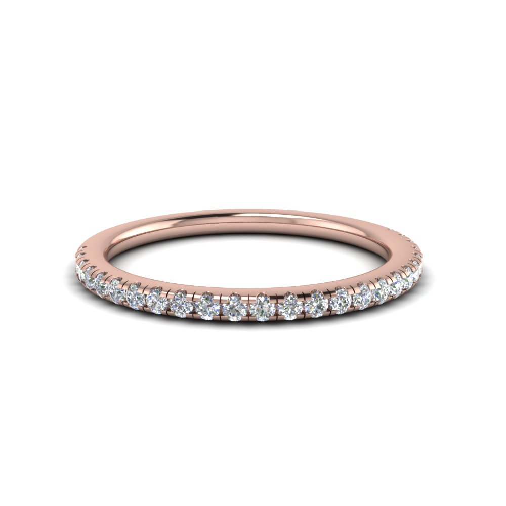 Delicate Diamond Anniversary Band