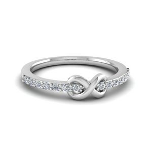 Delicate Diamond Promise Ring