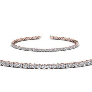 Diamond Tennis Bracelet For Women (3.5 Ctw.) In Rose Gold