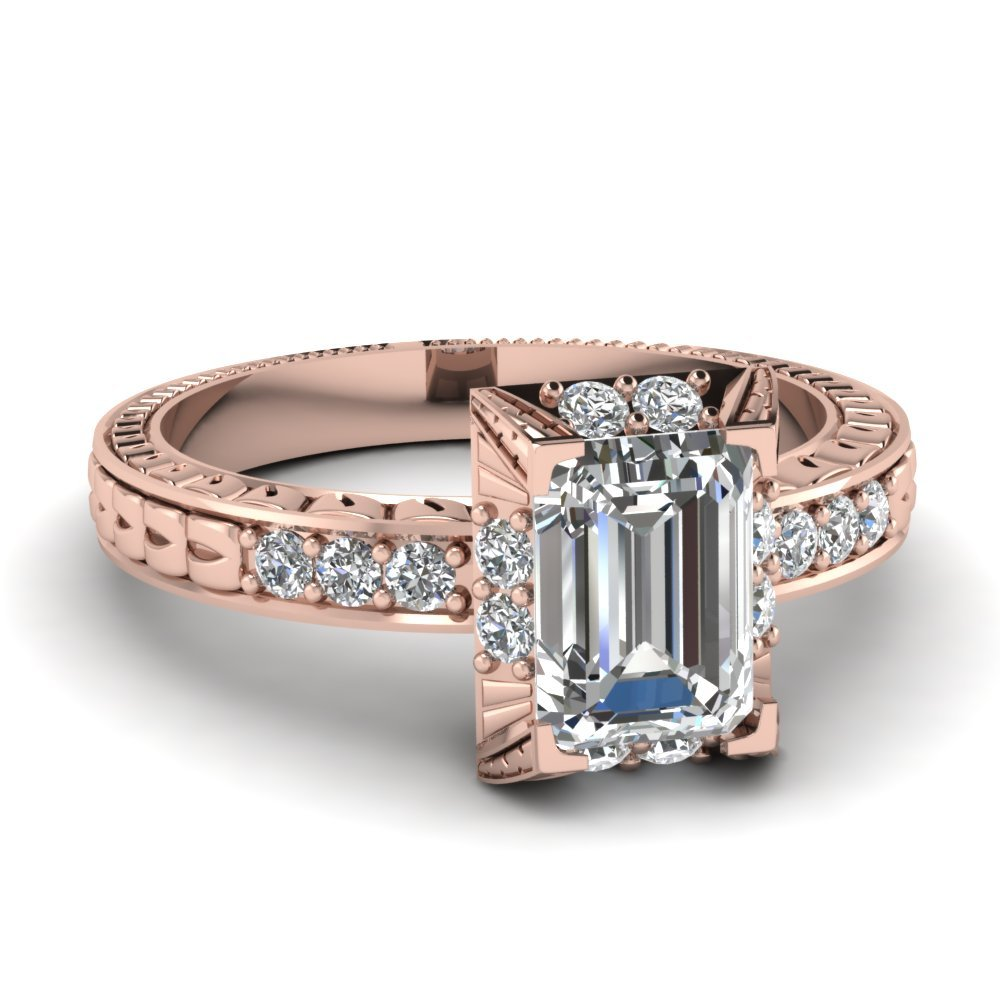 Top 20 Popular Vintage Rings Style Fascinating Diamonds
