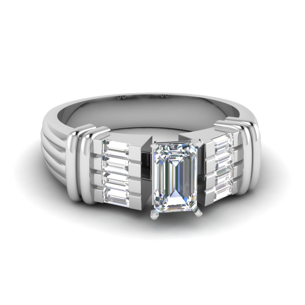 Art Deco Womens Diamond Rings