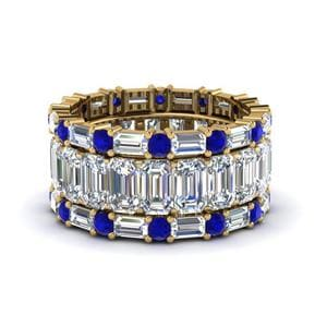 Sapphire Stackable Wedding Band