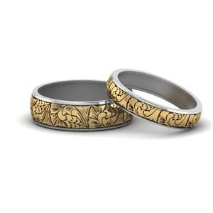 Engraved Rings For Him And Her