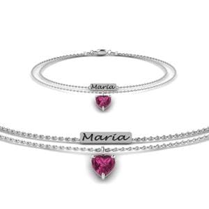 Engraved Mom Bracelet