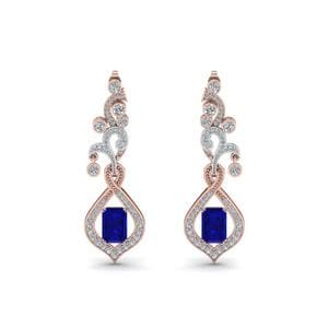 Exclusive Diamond Drop Earring For Mom
