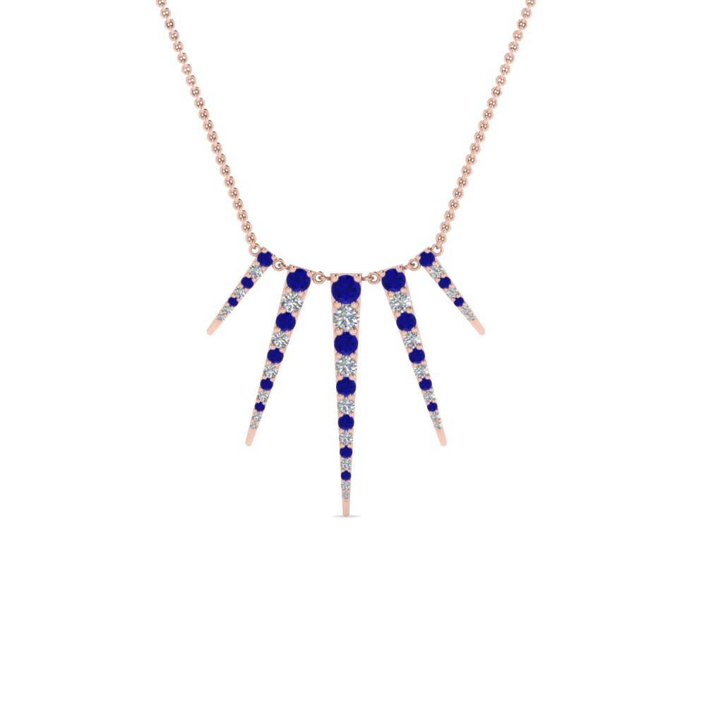 Affordable Sapphire Necklaces