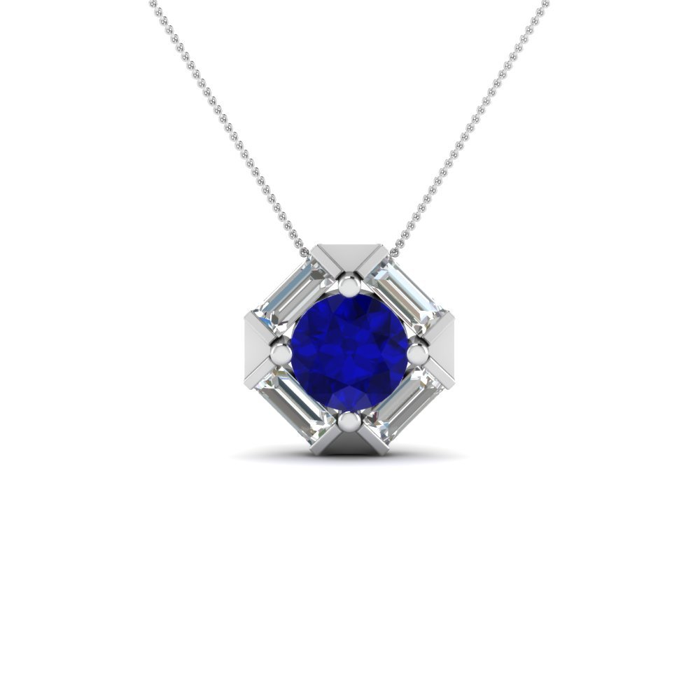Affordable Sapphire Pendant