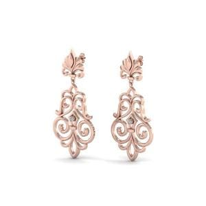 Filigree Dangle Drop Earring