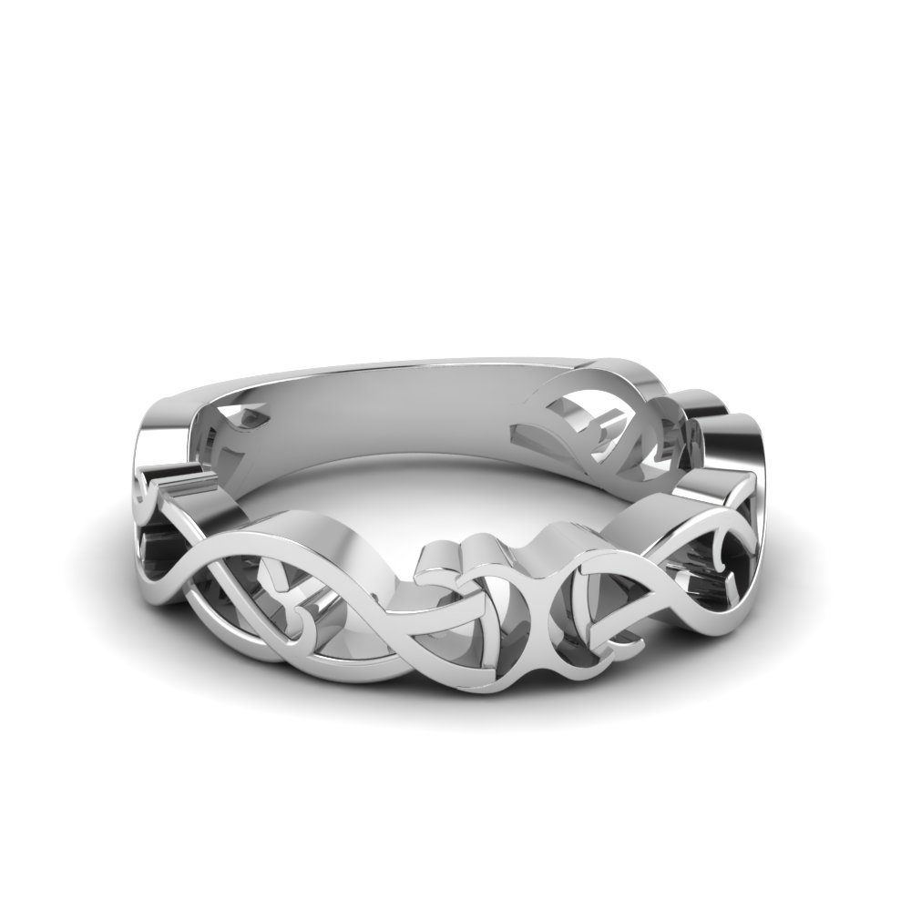 Filigree Mens Band