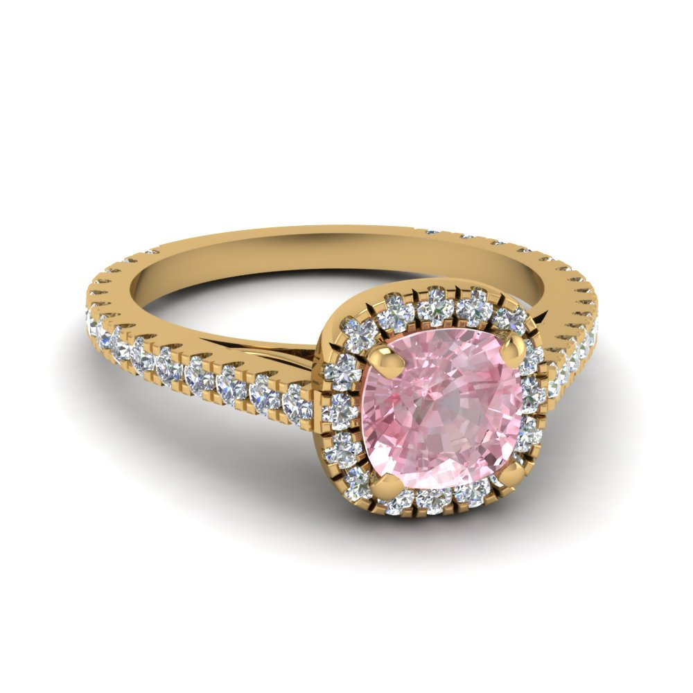 Morganite Engagement Rings