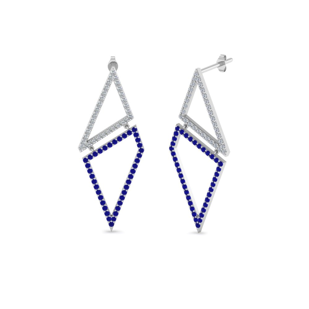 Sapphire Earrings For Hers