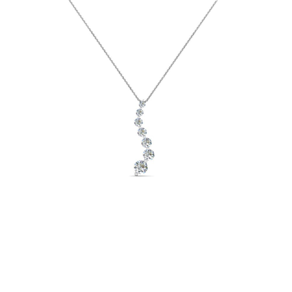 Fancy Diamond Drop Pendant