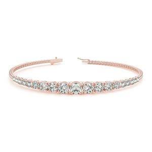 Graduated Diamond Tennis Bracelet