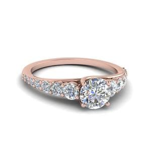 round rings engagement jewellery diamond best and beautiful pin engagements pave ring top band simple