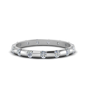 Half Carat Bar Set Diamond Eternity Band