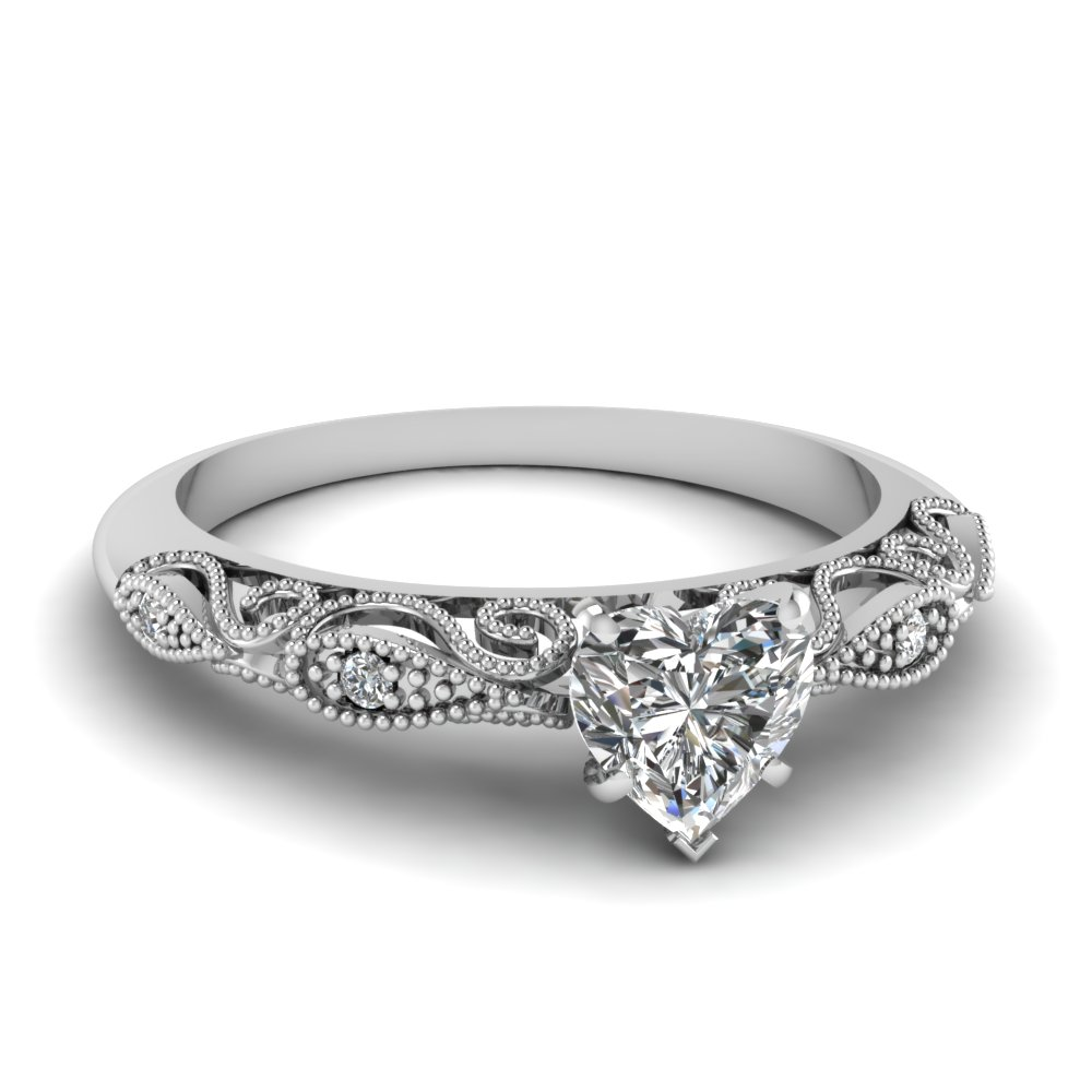0 50 Carat Heart Shaped Engagement Rings Fascinating Diamonds