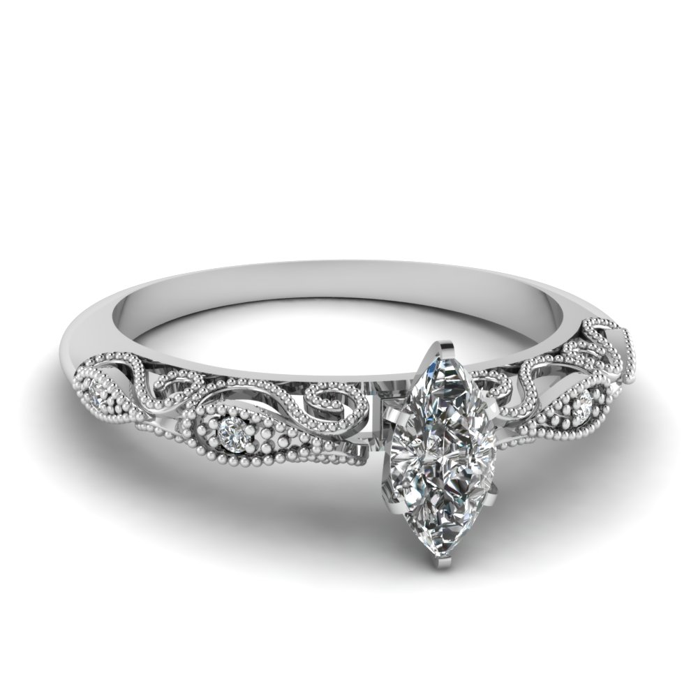 0 50 Carat Marquise Cut Engagement Rings Fascinating Diamonds