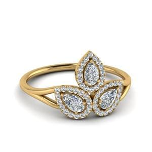 Diamond Contemporary Ring